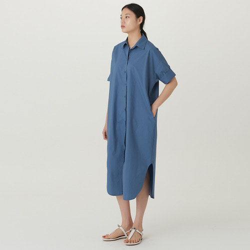 SANDER LONG SHIRT DRESS