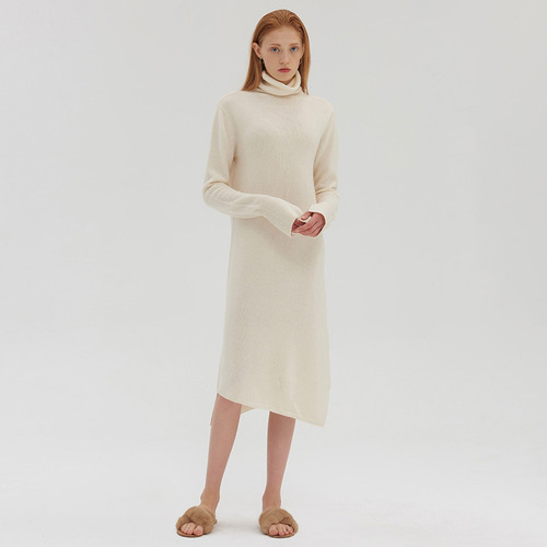 30%SALE/ WATER Turtle CASHMERE DRESS
