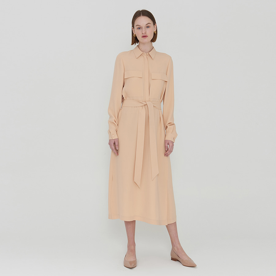 Amy silk pocket dress