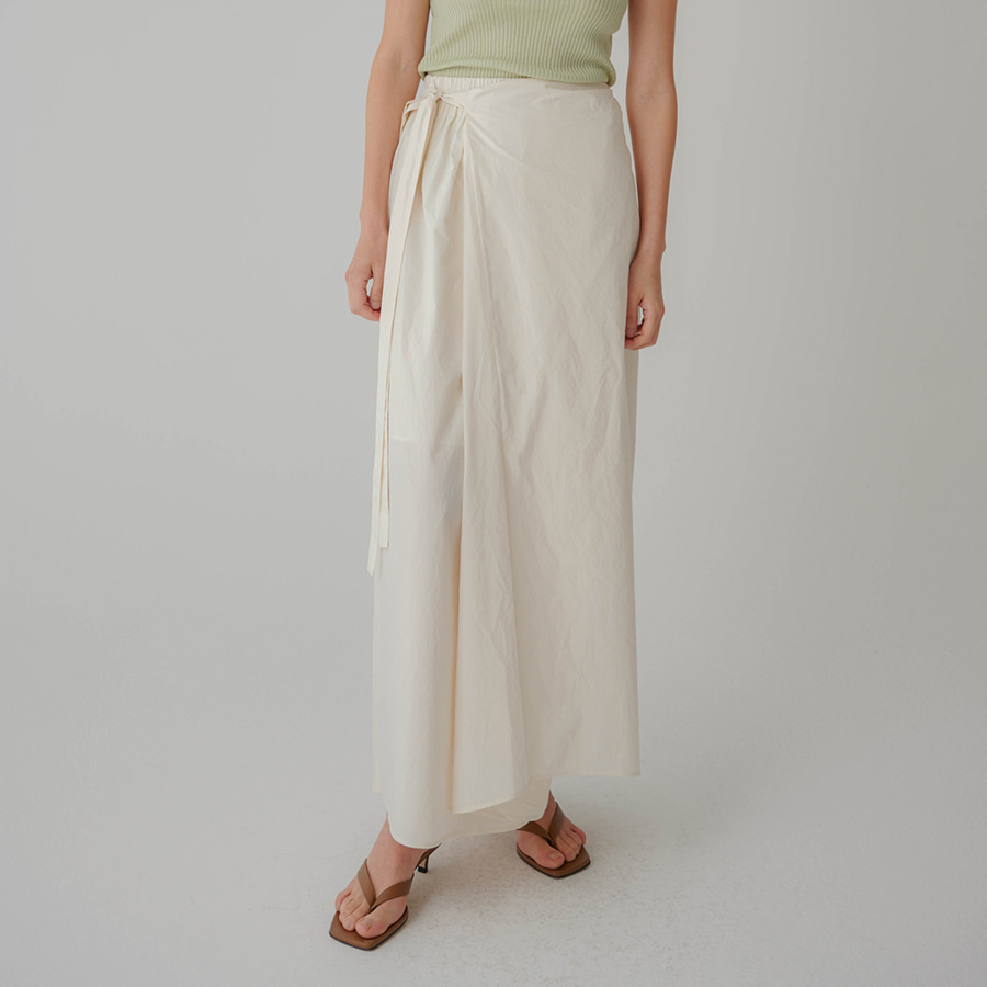 Basic Wrap Banding Skirt