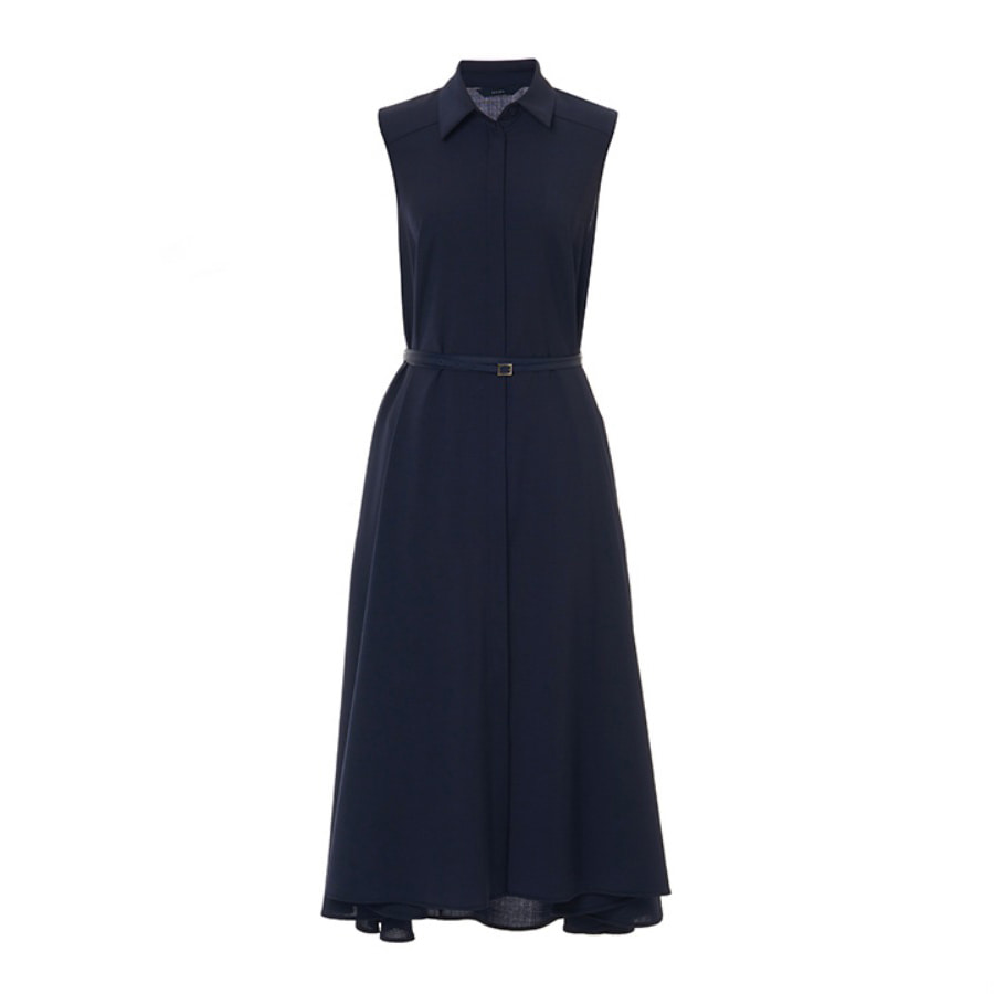 Sienna summer wool belted dress