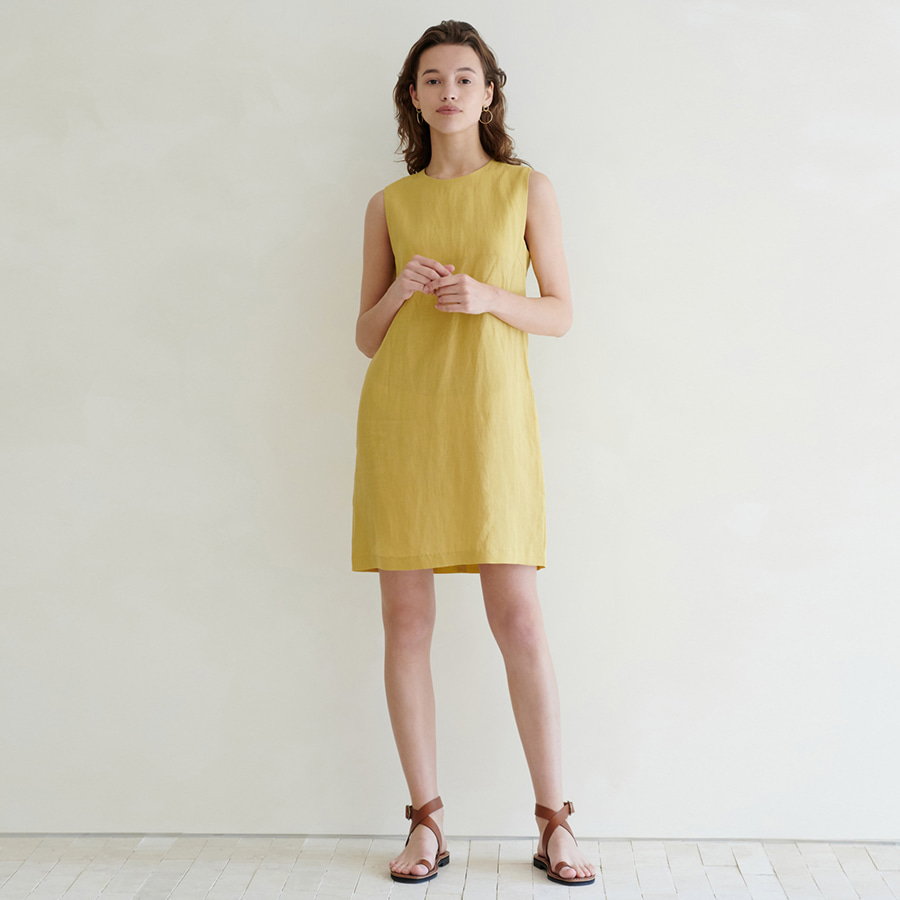 Alexa square mini dress