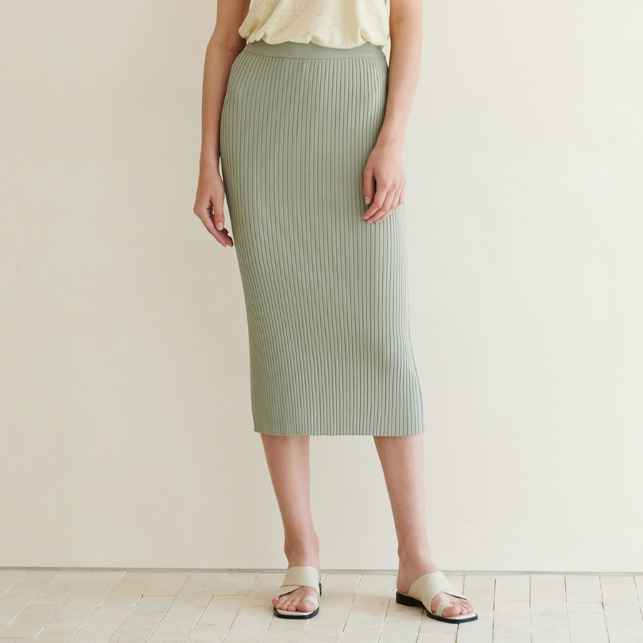 Margot slit golgi skirt