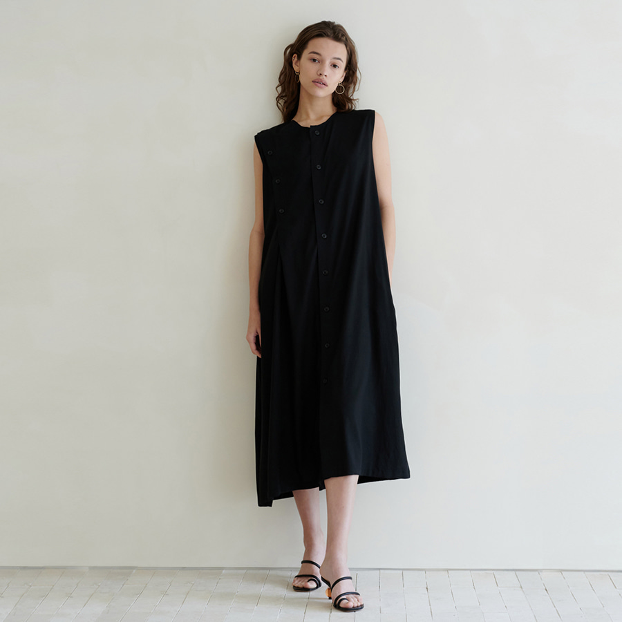 Jamie sleeveless open dress