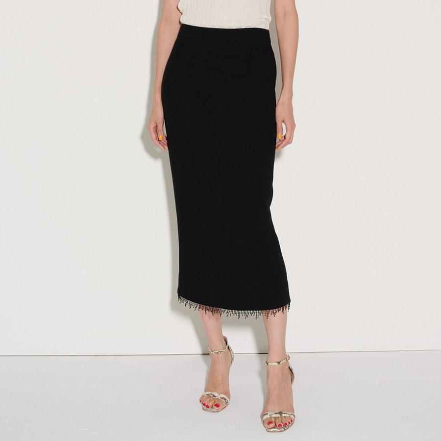 Arch wool-crepe Skirts