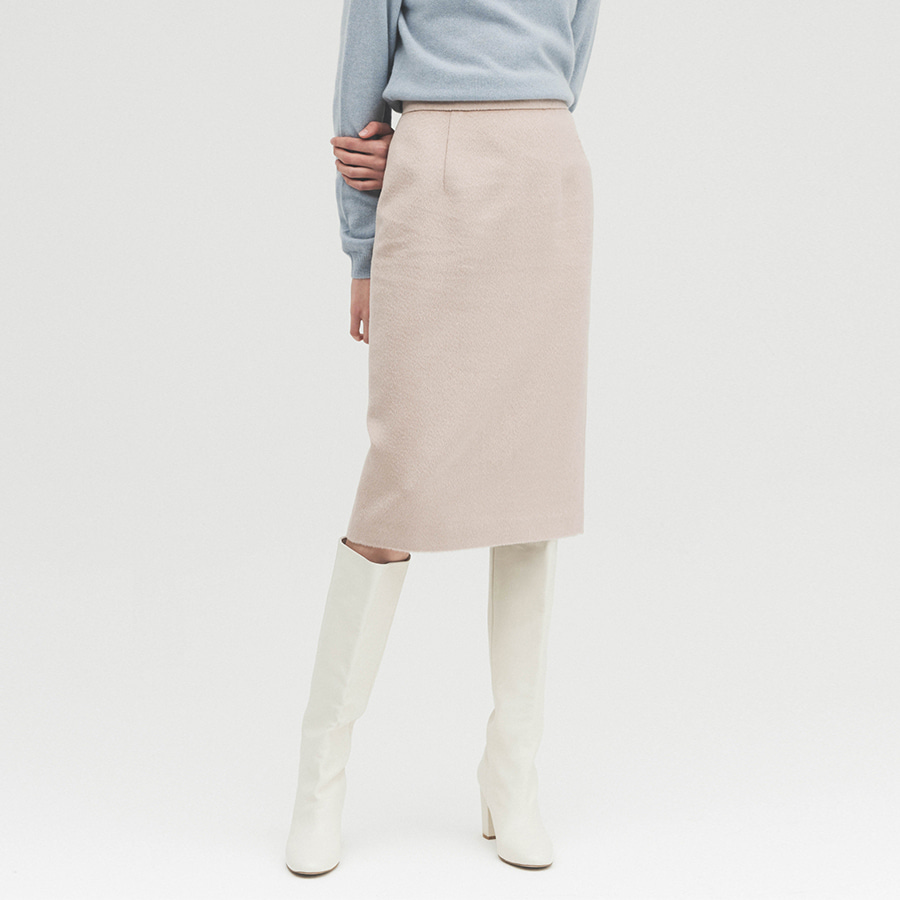 Lux tailored H skirt