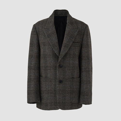 Harris tweed single blazer