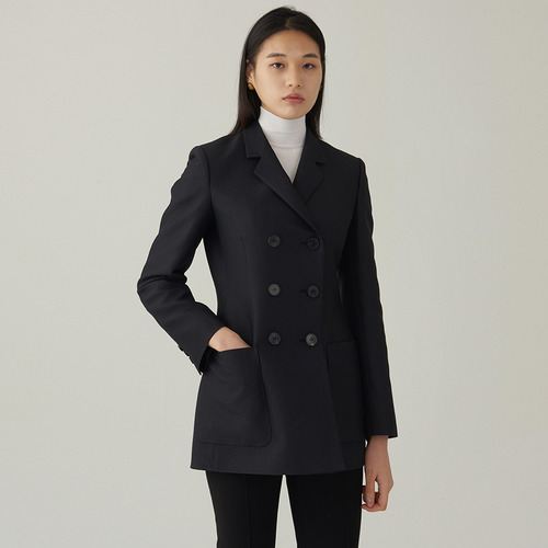 Di- woolsilk double jacket