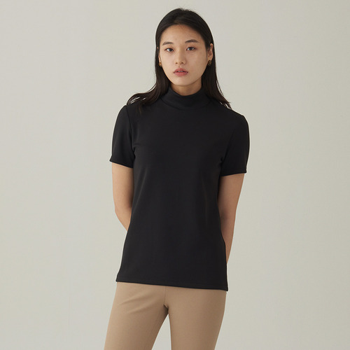 POLY STRETCH 1/2 TEE