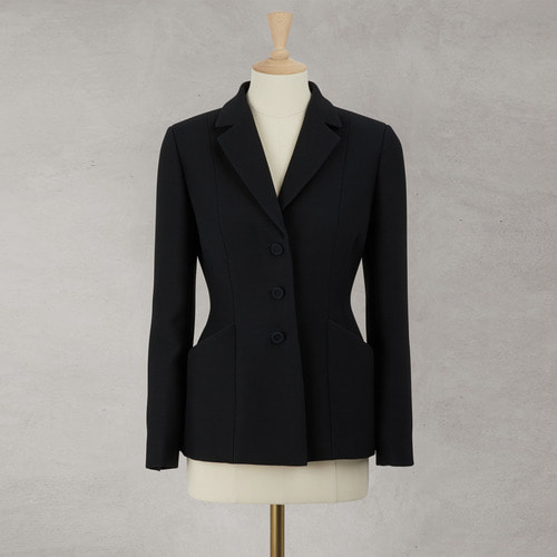 40%SALE/  D. WOOL SILK BAR JACKET