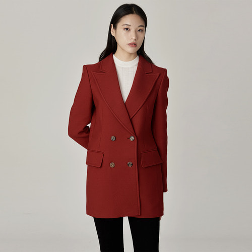 Angela double  wool  blazer