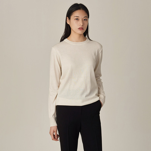 30%SALE/RENER ROUND COTTON SWEATER