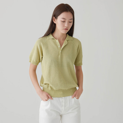 KINTTED  URBAN POLO SHIRT