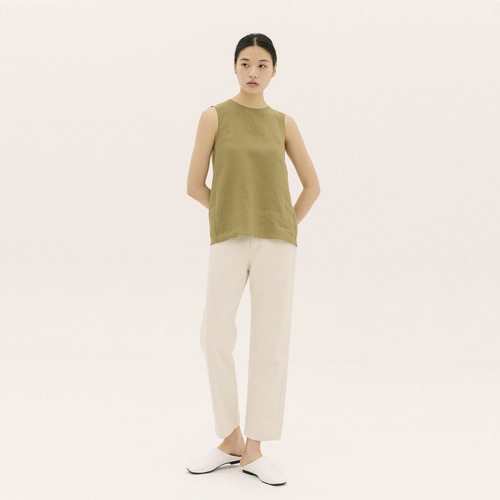 RARI LINEN SLEEVELESS