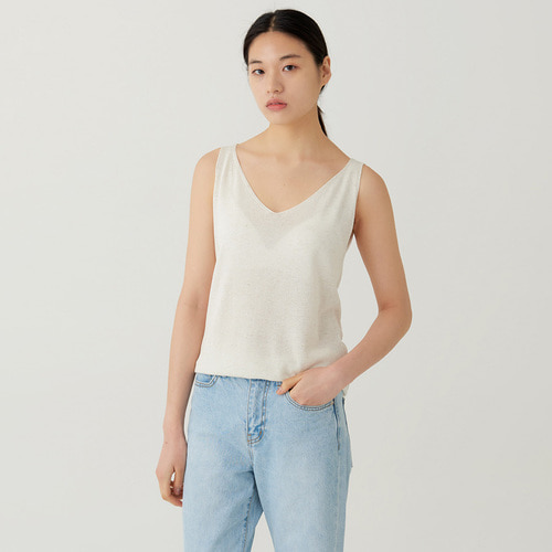 V.neck sleeveless