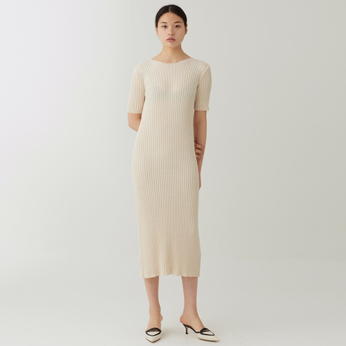 plan knit dress