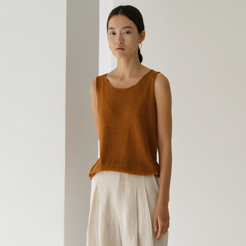 ARRI LINEN SLEEVELESS