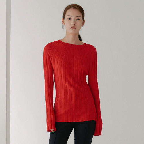C. collection high neck knit
