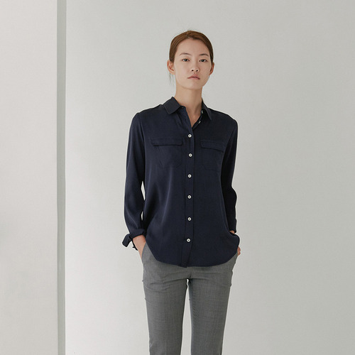 FW 100% SILK POCKET SHIRTS
