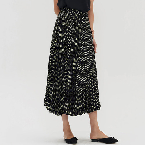 KANE DOT PLEATS SKIRTS