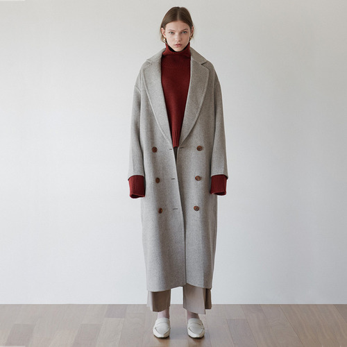 Low button hd coat