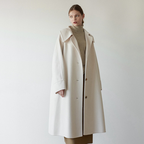 Tone over collar HD coat