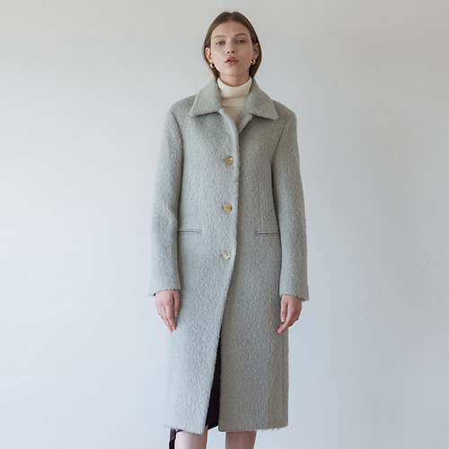 30%SALE/CELLY long mohair coat (italy)