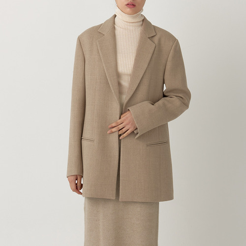 CITY OPEN WOOL JACKET