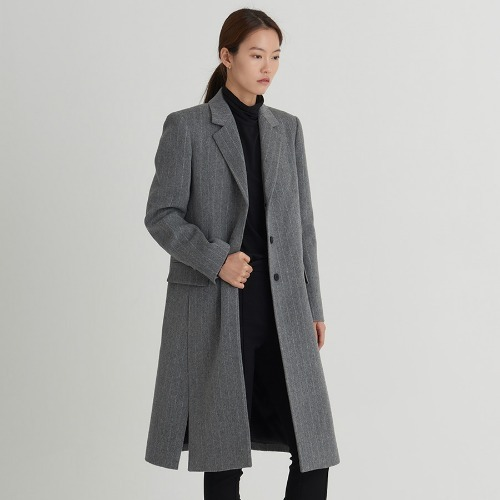 Cuci stripe tailored coat