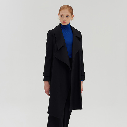 그레이 리오더 / J.Y asymmetric wool COAT