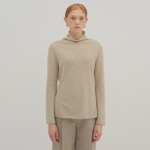 30% SALE / 12 HALF TURTLE KNIT