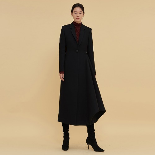Phere one button wool coat