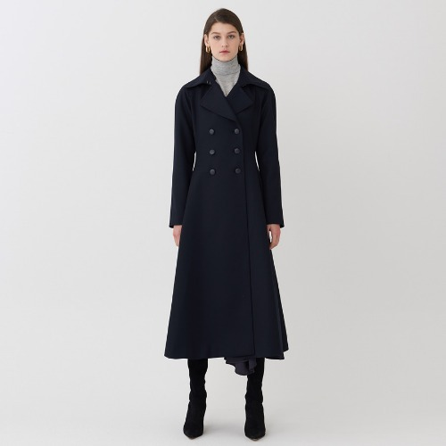 AA DRESSY DOUBLE BREASTED COAT