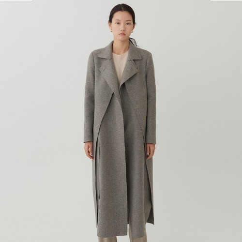 18F/W Masion long layered coat