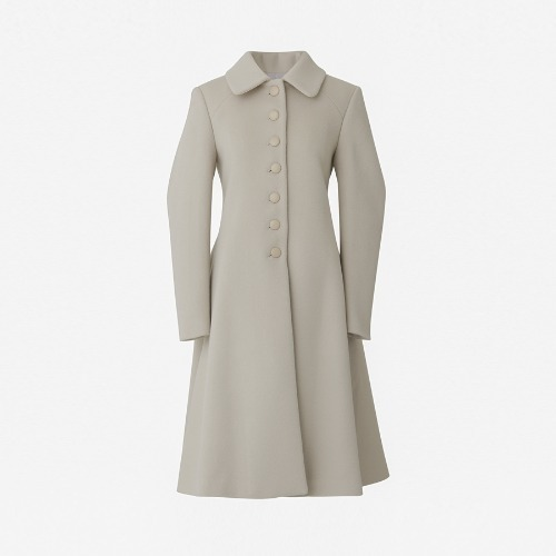 20%SALE/ AA button cashwool coat