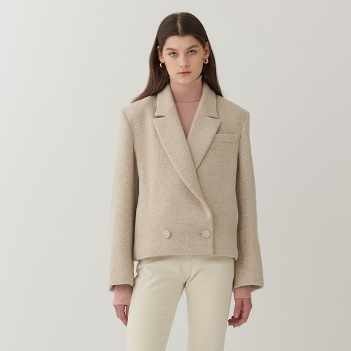 En Herringbone Double Jacket