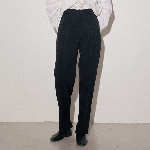 Back zip point trouser