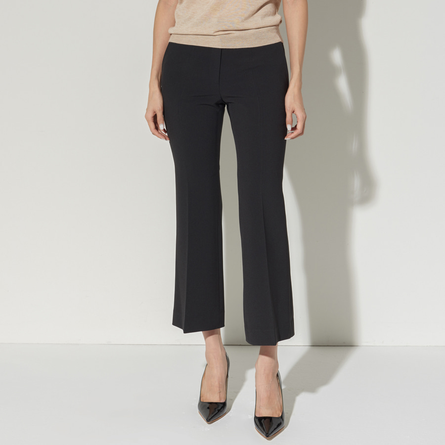 List mini flare trouser