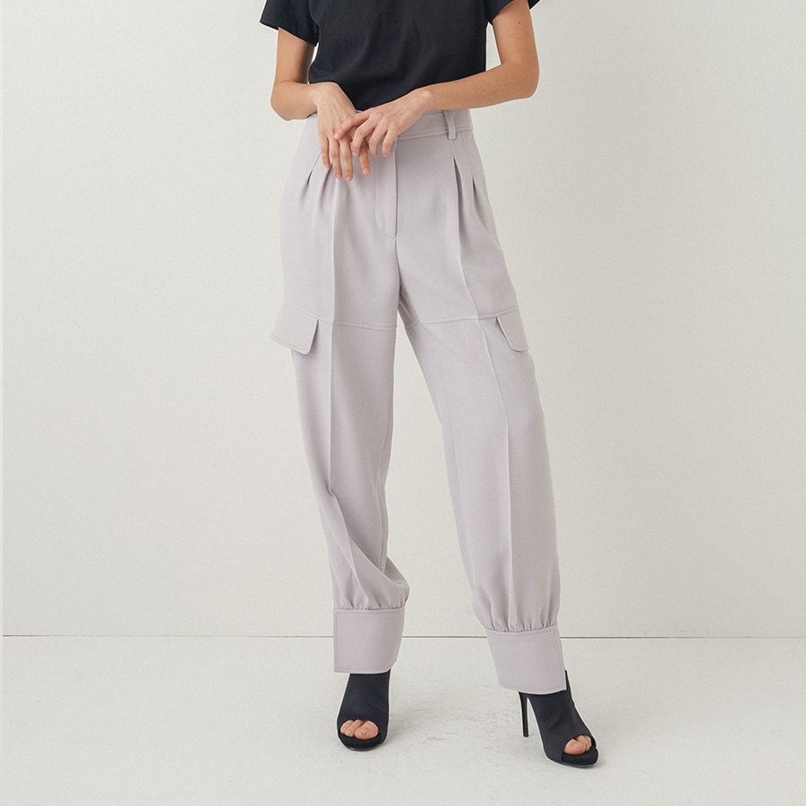 CHIC PILOTO rib side trouser