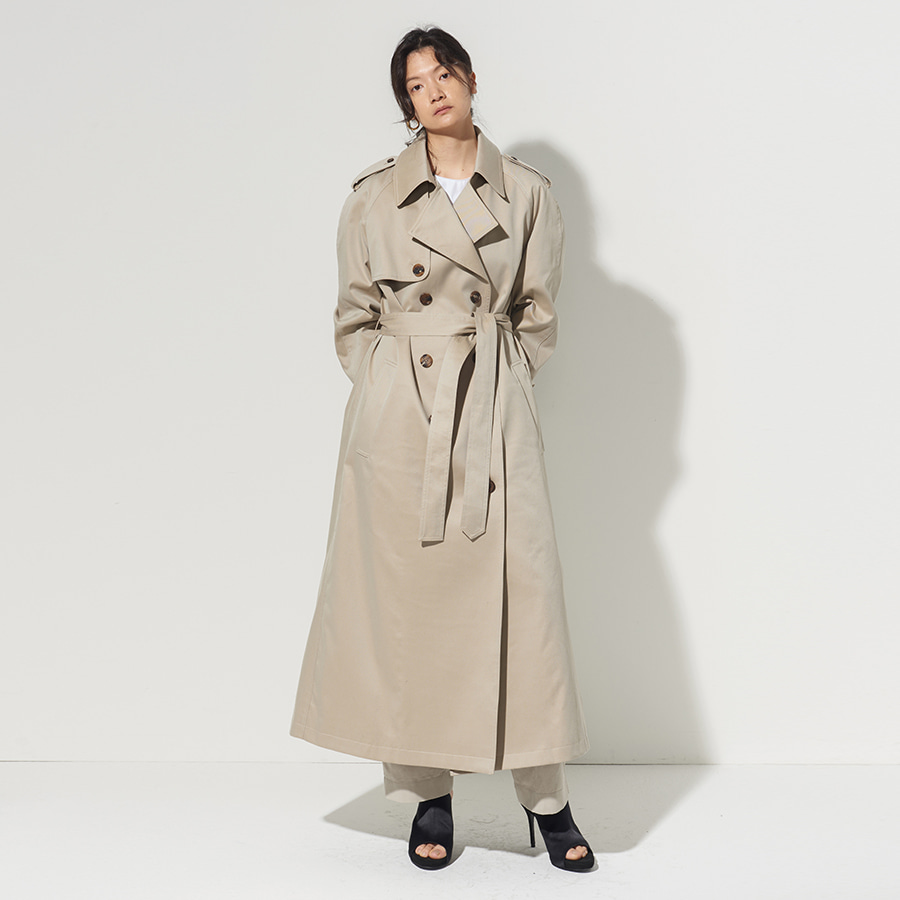Chiara DOUBLE TRENCH COAT