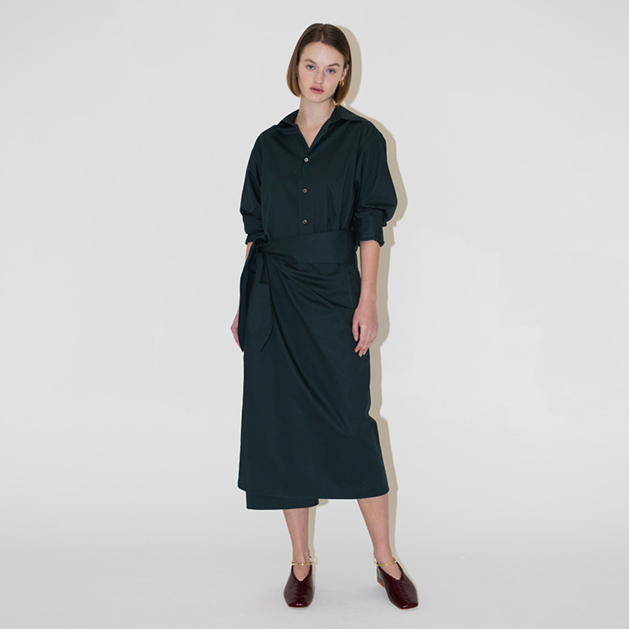 Clair belted shirts Dress