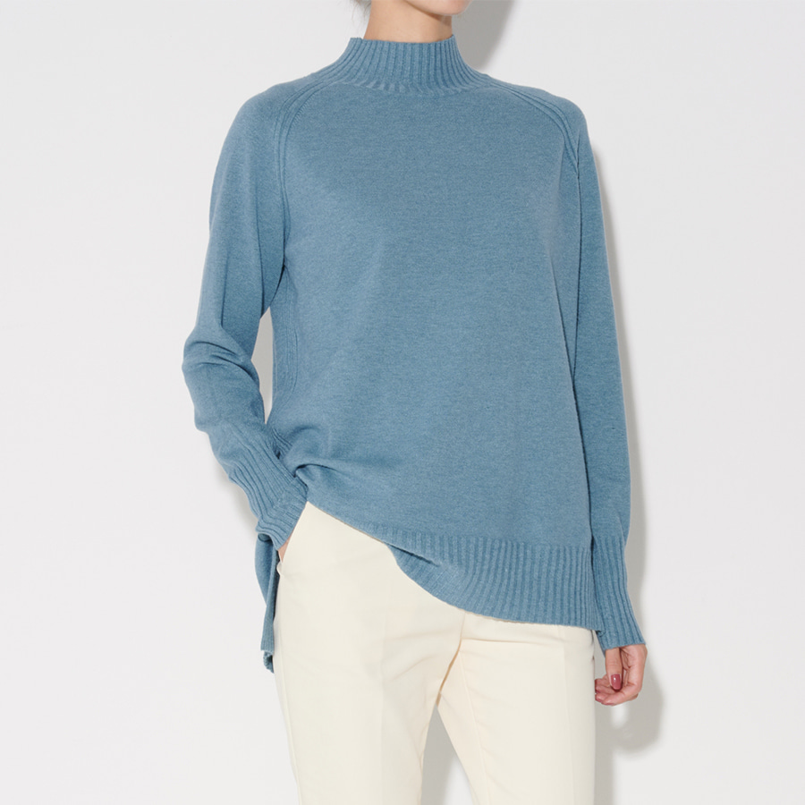 Muriel half turtle-neck knit