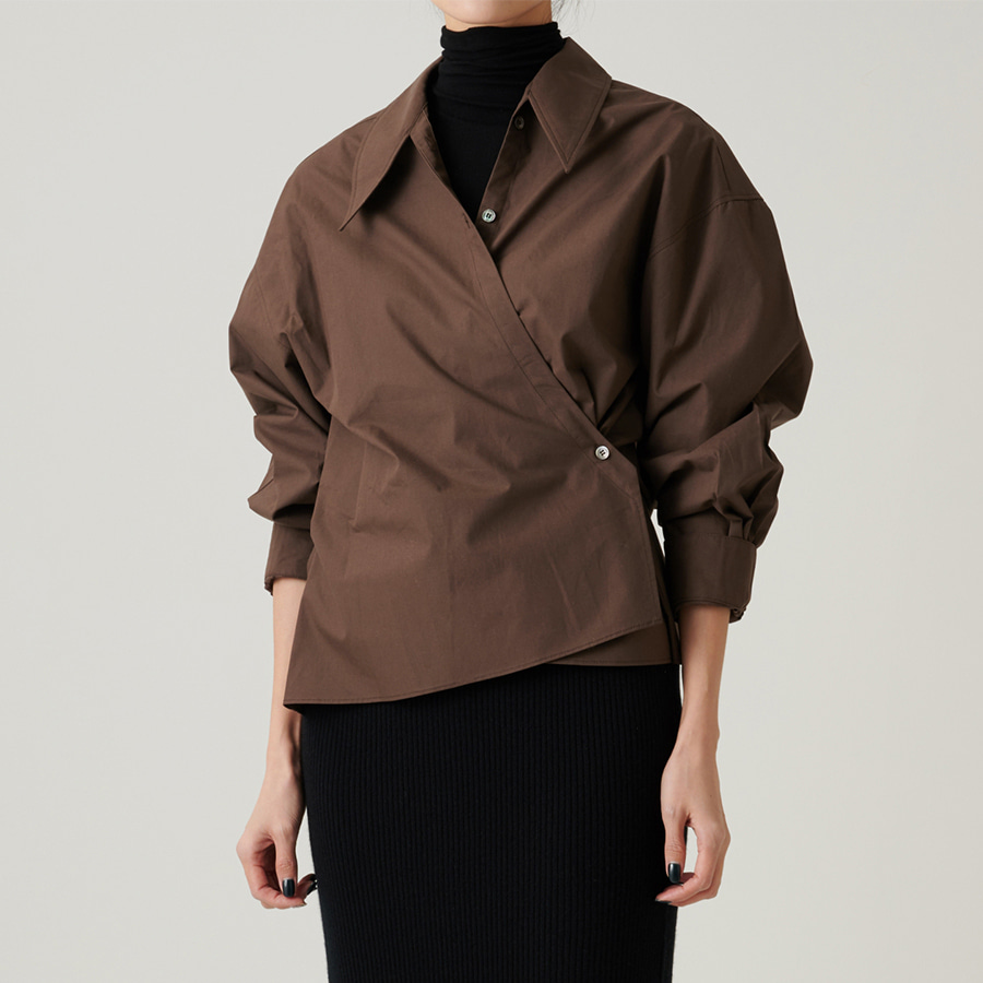 Twist jema cotton shirt