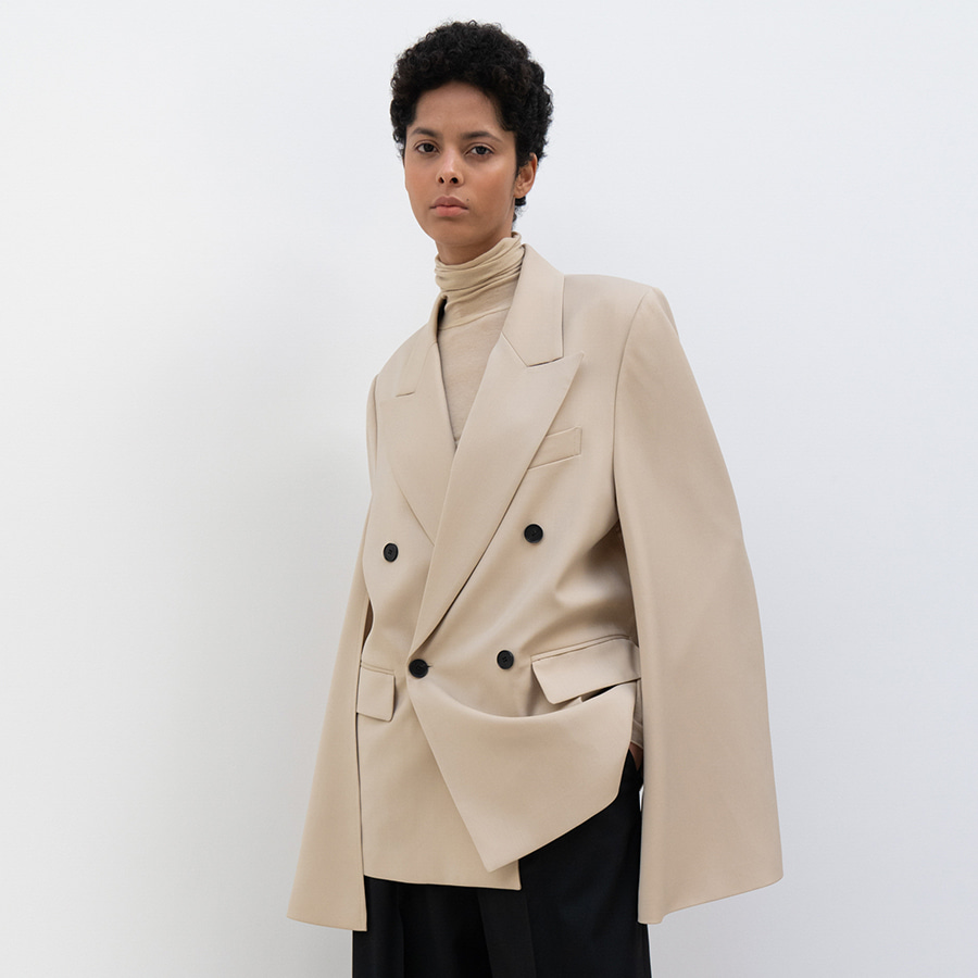 June double cape Jacket