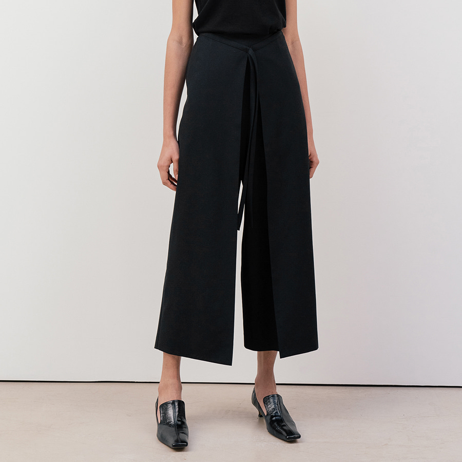 Lapaz wide wrap trousers