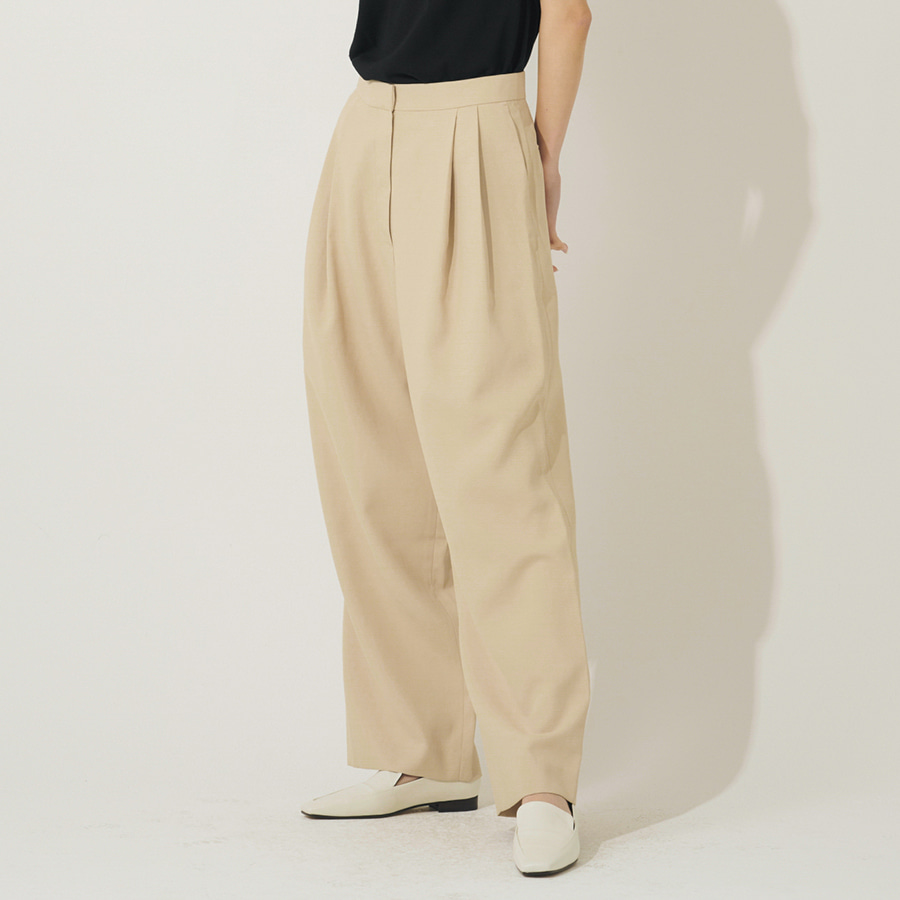 Dallas tuck trousers