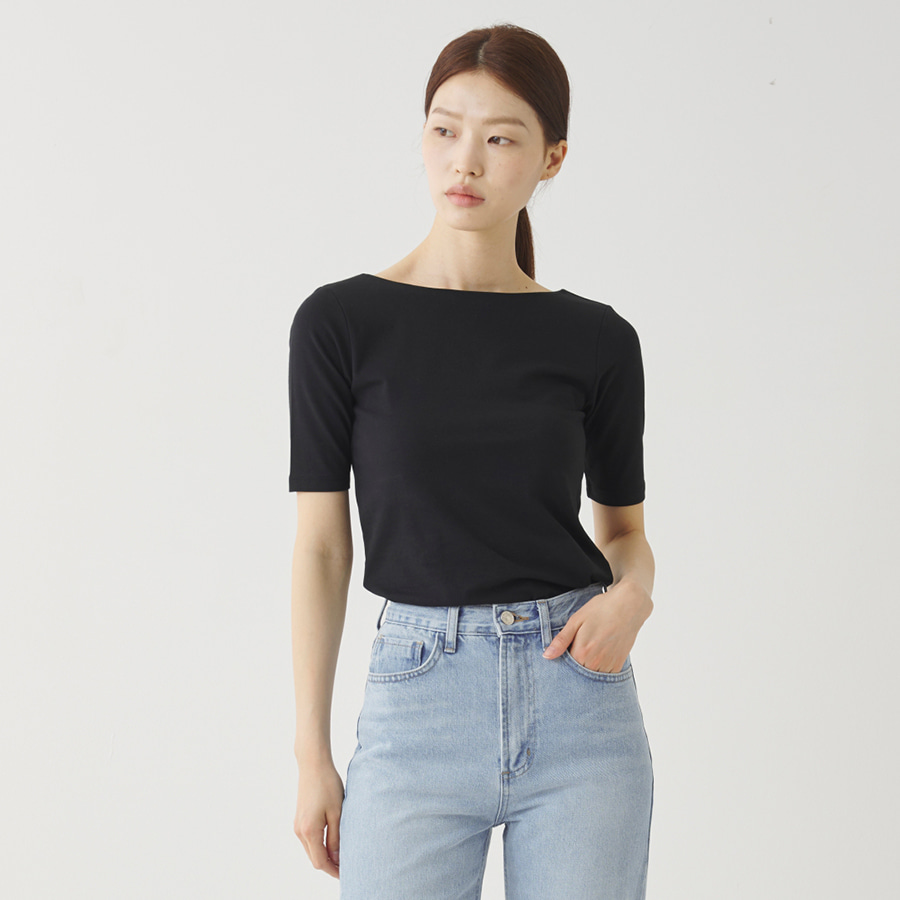 Aino open back Tee
