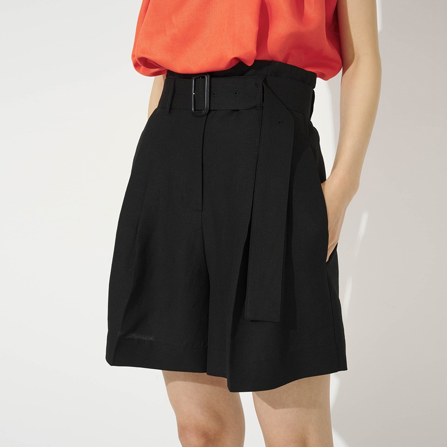 Teron belted shorts