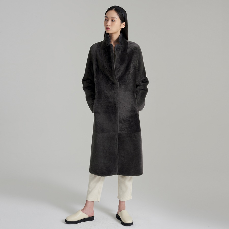 NEW VIN lamb shearling coat