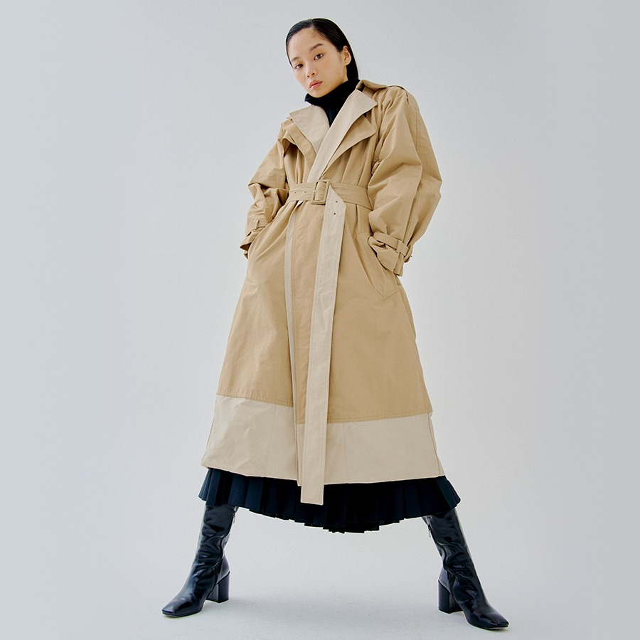 Louise double trench